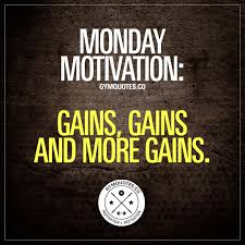 Monday Motivation Quotes For Workout With Gym Quote Gains And More 2
