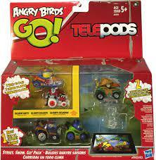 Angry Birds Go Telepods Street, Snow, Go! Pack Exclusive Karts- Buy Online  in Andorra at andorra.desertcart.com. ProductId : 21392432.