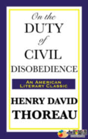 essay civil disobedience