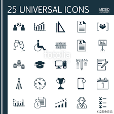 Free Graph Paper App Set Of 25 Universal Editable Icons Can Be Used For Web