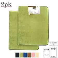 hunter green bath rugs rug memory foam 2 pack sage mat and shower dark bathroom royal hunter green bath rugs
