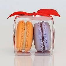 clear macaron box for 2 macarons 0 90