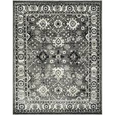 8x10 area rugs gray and white vintage collection grey and black area rug 8 x 8x10