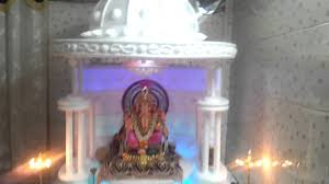 ganesh festival 2012 home made decoration at home youtube