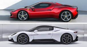 Ferrari 296 GTB Vs. Maserati MC20: Just How Similar Are They?