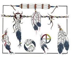 navajo tattoo designs. Lovely Indian Tattoo Designs Free Navajo Feathers Bottom Right Pinterest