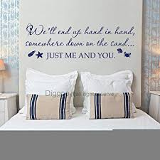 Amazon Just Me And You Wall Decal Love Wall Quotes Beach Wall Inspiration Love Wall Quotes
