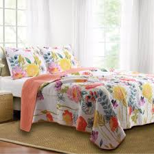 Quilts, Quilt Sets, and Coverlet Bedding | Touch of Class & Watercolor Dream Quilt Set Multi Cool Adamdwight.com