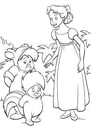 Wendy E I Bambini Sperduti Disegni Da Colorare Gratis Disegni Da