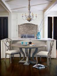 grey wood round dining table astounding room washed fine ideas home design interior 24