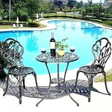garden patio furniture. garden ridge patio furniture clearance set tulip 3 piece cast bistro ice arena