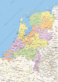 Check spelling or type a new query. Digital Political Map Of The Netherlands 1452 The World Of Maps Com