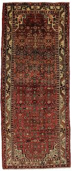 tribal handmade runner hossainabad hamedan persian rug oriental area carpet 4x10 tribal