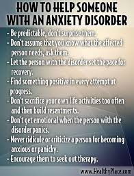 Quotes To Help With Anxiety Enchanting How To Help Someone With Anxiety Disorder Pictures Photos And