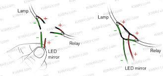 wiring diagram led mirrors wiring diagram and schematic gx470 led turn signal mirror diy install club lexus forums