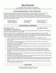 Resume Format For Accounts Manager Model Resume For Accountant Accounting Resume Sample Professional 12