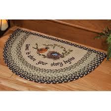 unique kitchen slice rugs