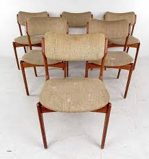 black lacquer dining room chairs new mid century dining set with table and chairs by skovby