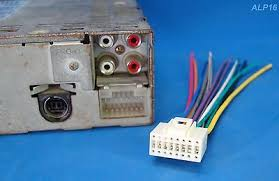 new alpine pin car radio wire harness cd player wiring plug alpine 16 pin stereo radio wire harness power plug cd mp mp3 dvd us