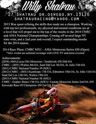 Motocross Resume Free Resume Example And Writing Download