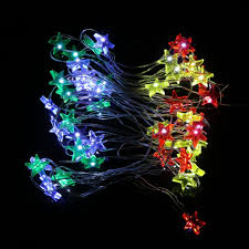 Battery Operated Christmas Lights 3m 30 Led Waterproof Stars Copper Wire Fairy String Lights Battery Operated Xmas Wedding Decor Outdoor String Of Lights Christmas Light String From