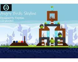 LEGO MOC Angry Birds Skyline by veyniac | Rebrickable - Build with LEGO