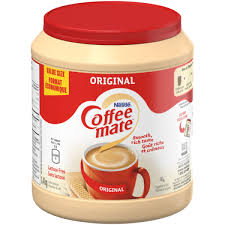 Please check current packaging for a full list of please refer to the product label for the most current info or visit us online at coffeemate.com. Coffee Mate Original 170 G Nestle Canada