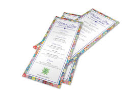 Mother S Day Menu Template Colorful Mothers Day Menu Template