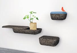 functional cork wall containers lightweight shelves t76