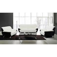 black modern couches. Chic Inspiration Black And White Sofa Set Impressive Ideas European Alicia 3 Modern Couches