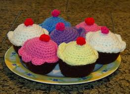 Crochet Cupcake Pattern Best Clever Crafty Cookin' Mama Culinary Crochet Cupcakes