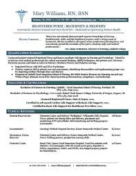 Resume Template For Registered Nurse Magnificent Registered Nurse Resume Sample Free Yelommyphonecompanyco