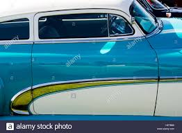 1950 Chevrolet Fleetline side detail. Classic American car Stock ...
