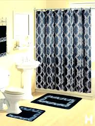 curtain outstanding bathroom shower curtains sets a set contemporary bath mat contour rug hooks inside