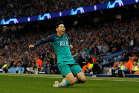 Champions league at a glance. Manchester City Spurs Highlights