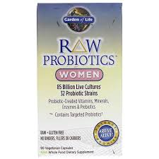 raw probiotics women by garden of life is a raw full spectrum whole food probiotics supplement for women for l health and overall digestive function