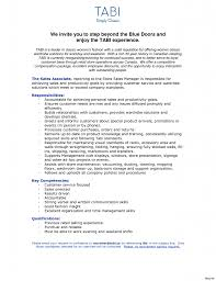 Sales Skills Resume Customer Resume Service Skill For Sales Associate With Experience 99