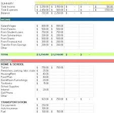 Household Expenses Spreadsheet Excel Excel Expenses Template Uk Monthly Budget Spreadsheet