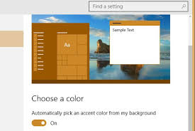 Windows 10 Color Scheme When It Comes To Visual Aesthetics Windows 10 Is Reasonably