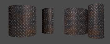 metal floor texture. Rusty Metal Floor Texture Pattern