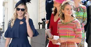 Prince harry's former girlfriend chelsy davy was all smiles as she arrived at the royal wedding despite her previous warnings about royal family life. Prince Harry S Ex Girlfriends Are Attending The Royal Wedding And People Can T Get Over It