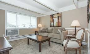 another view of a model living room at mariners cove apartment homes in toms river