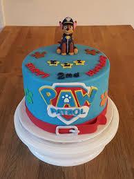 Paw Patrol Birthday Cake Cake Flavour Alwynnes Homemade Cakes