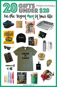 20 gifts under 20 for the vegan men in your life