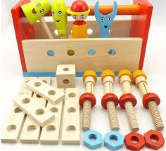 children assemble wooden blocks kids child cartoon diy wood toolbox for early learning educational toys with 74 98 piece on ag s