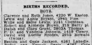 Emmett and Elmer Rhodes, twins born to Uncle David and Aunt Lucille Rhodes  in 1942. - Newspapers.com