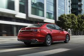 2018 acura exterior colors. brilliant 2018 rear view of a red 2018 acura rlx intended acura exterior colors