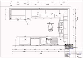 Kitchen Design Measurements Awe-inspiring U Layout 19