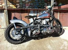 1942 harley davidson el knucklehead old school period bobber for