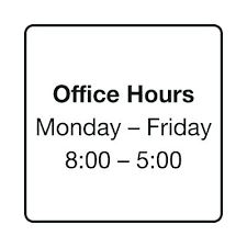 Printable Business Hours Sign Office Template Free Hour